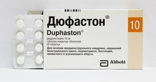 Дюфастон характеристика, опис