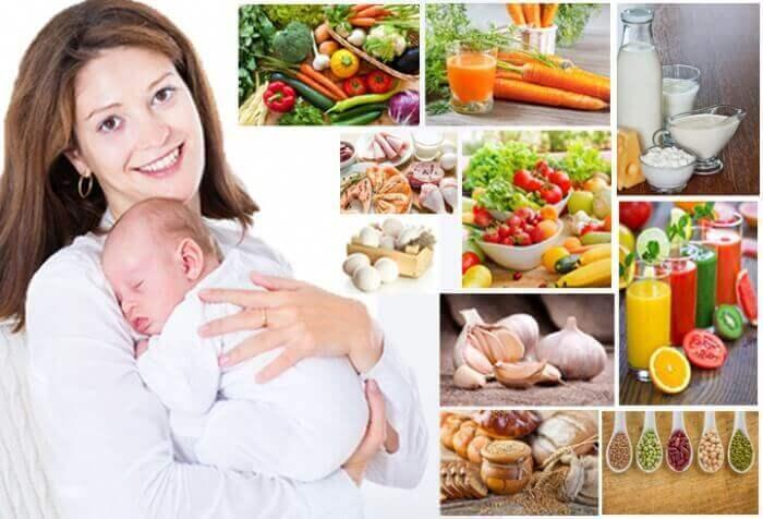Харчування при грудному вигодовуванні