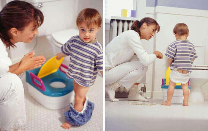 Привчання дитини до туалету, горщика