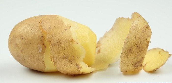 Картопляна маска для обличчя від зморшок