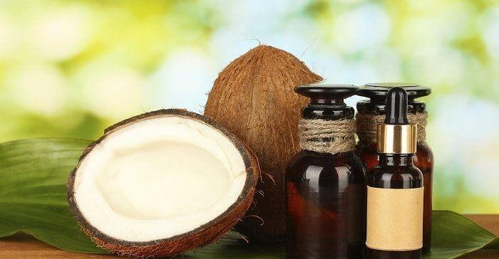 Кокосова олія для обличчя від зморшок
