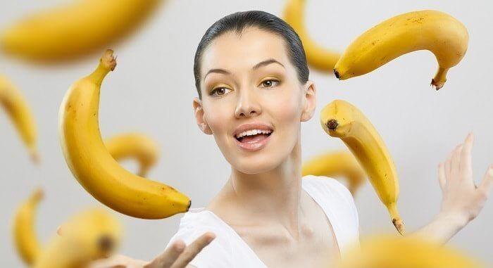 Ефективна бананова маска для обличчя від зморшок