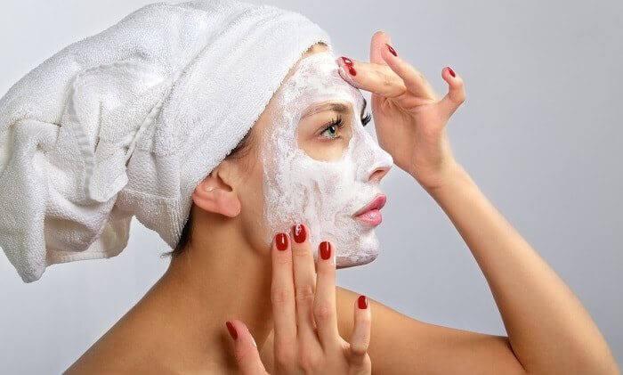 Рисова маска для обличчя від зморшок
