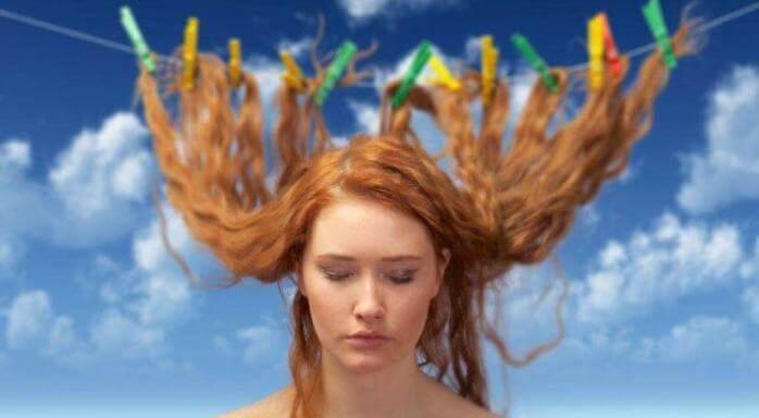 Як висушити волосся без фена