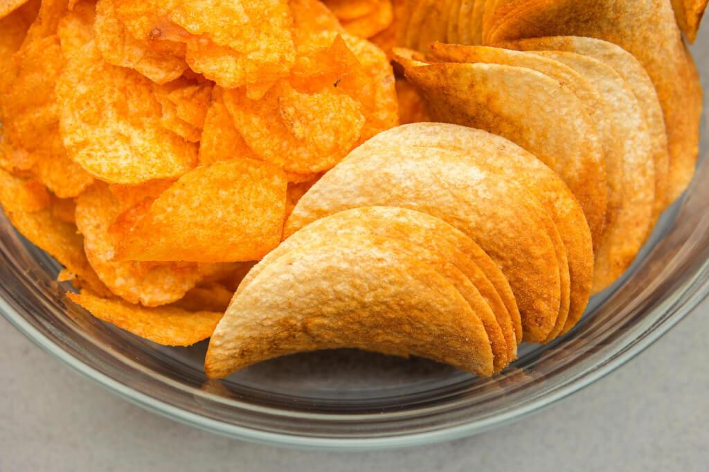 Картопля-фрі і чіпси