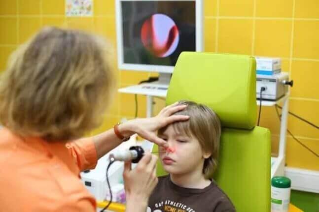 Процедури лазером у дітей