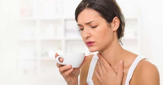 Болить горло, що робити