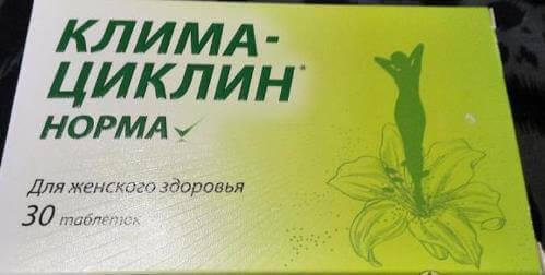 Клімаціклін - ефективний засіб при клімаксі