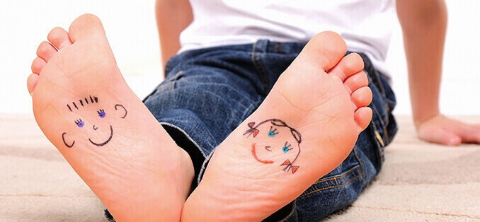 Як перевірити, чи є плоскостопість у дитини