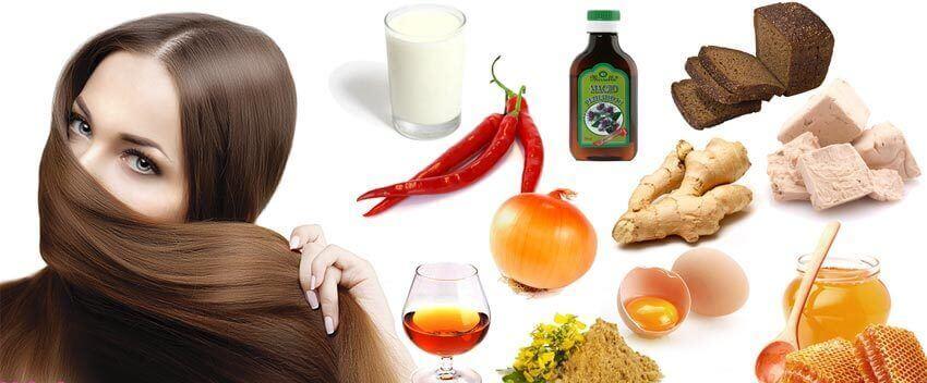 Домашні маски для росту волосся - найкращі рецепти