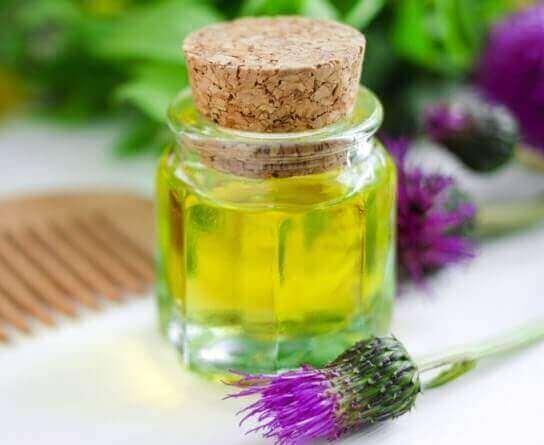 Реп'яхова олія для волосся
