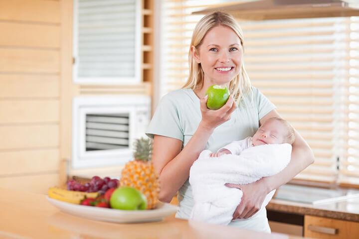 Меню и рацион кормящей мамы