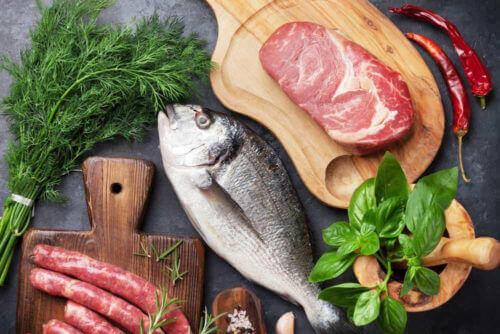 Море і м'ясопродукти