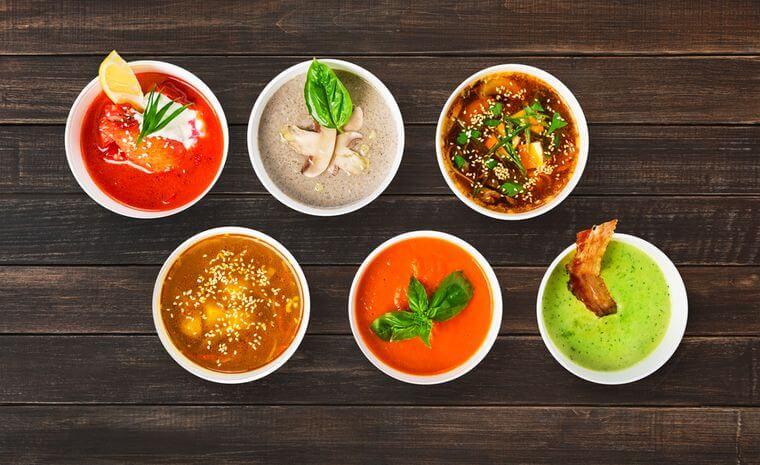 Різновиди жироспалюючих супів