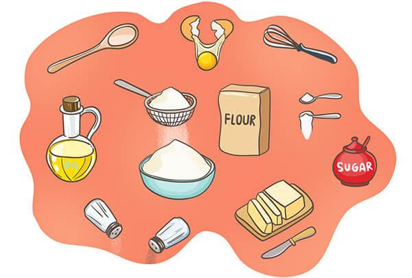 Английские слова на тему кулинария: рецепты и готовка