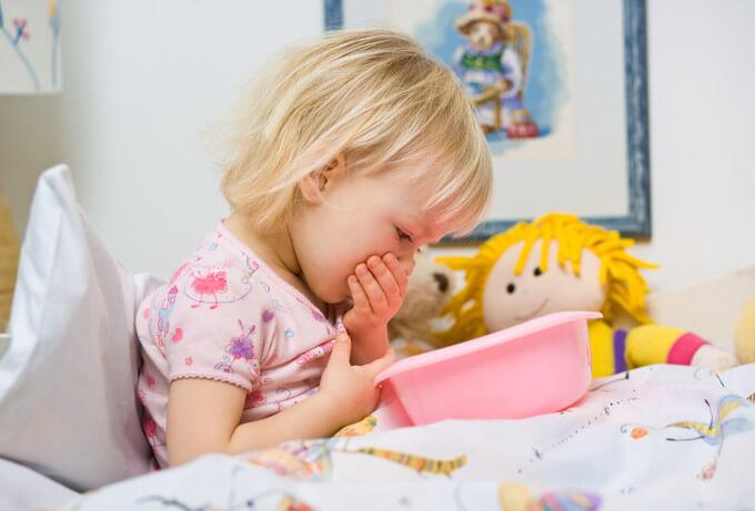Блювота і пронос у дитини