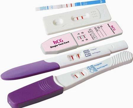 Тест на вагітність з визначенням терміну