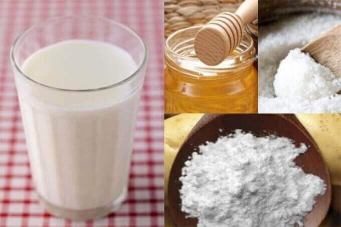 Молочно-медові ванночки