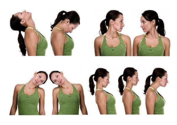 Правила движения при шейном остеохондрозе