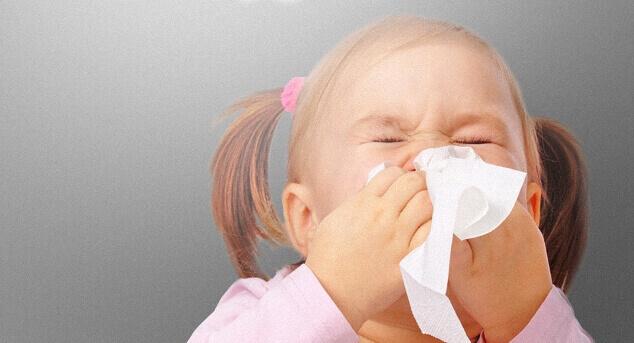 Алергія на пил у дитини