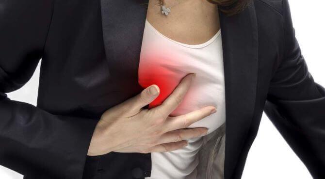 Біль у грудній клітці справа: причини
